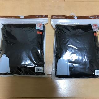 ジーユー(GU)のGU ブラック タートルネック サイズXL 2枚 新品(その他)