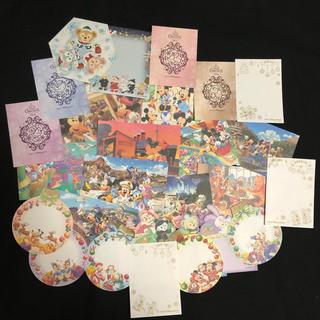 ディズニー(Disney)のディズニー バラメモ レアなアート☆新クリスマス!(ノート/メモ帳/ふせん)