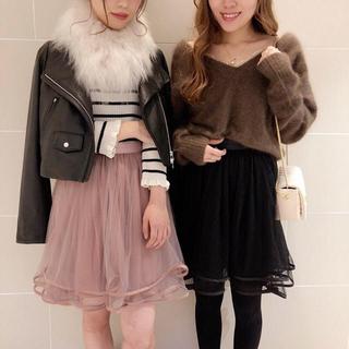 デイシー(deicy)の♡チュールスカート(ひざ丈スカート)
