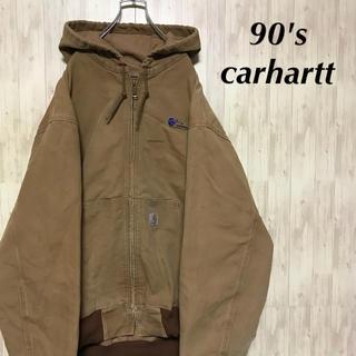 カーハート(carhartt)の美品 90's carhartt ブルゾン コーンナコピアロゴ(ブルゾン)