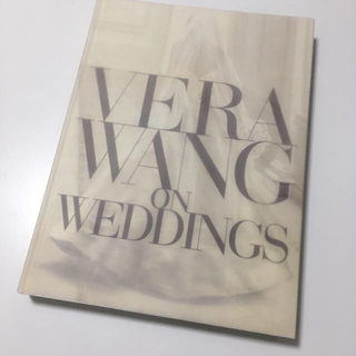 ヴェラウォン(Vera Wang)のVeraWang♡ウェディングブック(洋書)