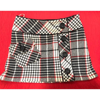 バーバリーブルーレーベル(BURBERRY BLUE LABEL)のBURBERRY BLUE LABEL バーバリー チェック スカート 美品(ひざ丈スカート)