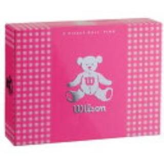 ウィルソン(wilson)のウィルソンベア ゴルフボール 新品 濃いピンク 1ダース✖︎3箱(その他)