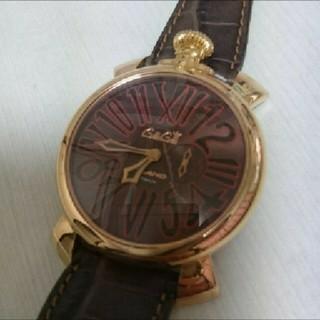 ガガミラノ(GaGa MILANO)のGaGa MILANO  SLIM  46mm(腕時計(アナログ))