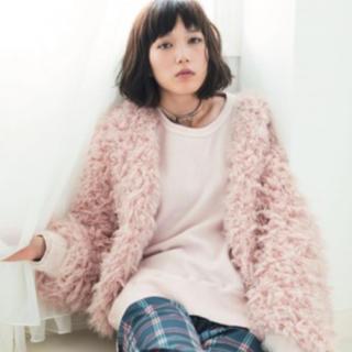 ファーファー(fur fur)の♡fur fur モコモコブルゾン♡(ブルゾン)