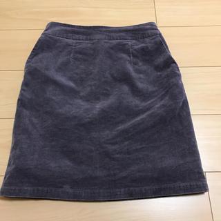 ケービーエフプラス(KBF+)のコーデュロイスカート☆(ひざ丈スカート)