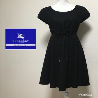 バーバリーブルーレーベル(BURBERRY BLUE LABEL)の36☆バーバリー  フレアワンピース(ひざ丈ワンピース)