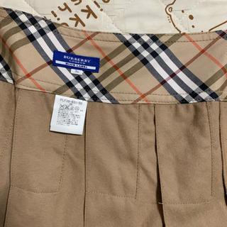 バーバリーブルーレーベル(BURBERRY BLUE LABEL)のBurberry ブルーレーベル プリーツスカート(ミニスカート)