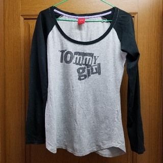 トミーガール(tommy girl)の最終⭐美品❣️TOMMY girl レディース長袖Tシャツ④ S(シャツ/ブラウス(長袖/七分))