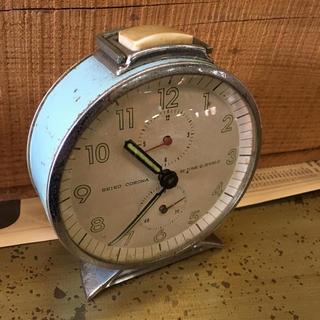 セイコー(SEIKO)の昭和レトロ SEIKO 置時計 ジャンク品(その他)