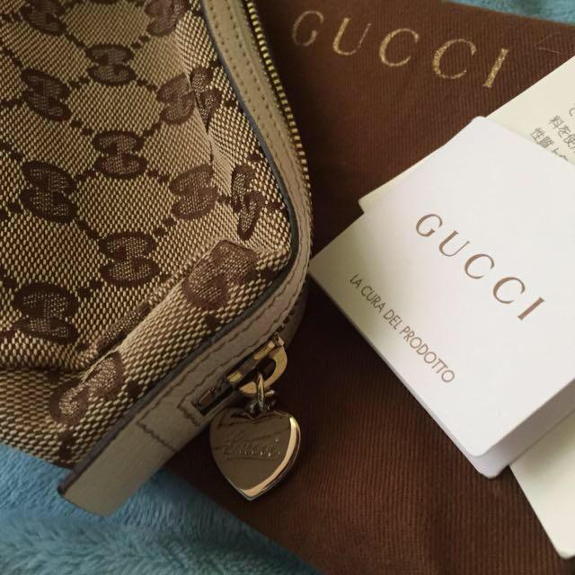 60b95d5819f9 Gucci - GUCCI ハートチャームポーチの通販 by damian's shop|グッチ ...