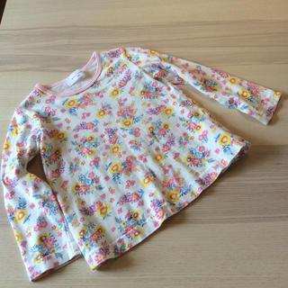 ウィルメリー(WILL MERY)のWill mery 花柄カットソー 100サイズ(Tシャツ/カットソー)