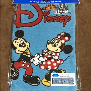 ディズニー(Disney)のTDRTDLTDS☆チームディズニー☆ロングフェイスタオル☆新品(キャラクターグッズ)