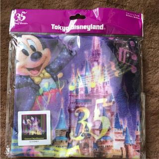 ディズニー(Disney)のTDL☆ディズニーランド☆セレブレイト☆ミッキー☆ウォッシュタオル☆35周年新品(キャラクターグッズ)