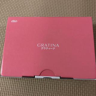エーユー(au)のau KYF37 グラティーナ GRATINA ピンク 新品(スマートフォン本体)