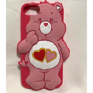ケアベア(CareBears)のiPhoneケース ケアベア LOVE A LOT 新品未使用(iPhoneケース)