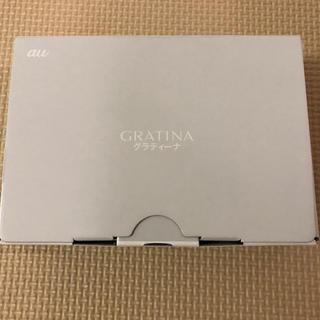 エーユー(au)のau KYF37 グラティーナ GRATINA ホワイト 白 新品(スマートフォン本体)