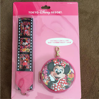 ディズニー(Disney)のTDRTDLTDS☆蜷川実花 ミニー カメラストラップ☆イマジニングザマジック(キャラクターグッズ)