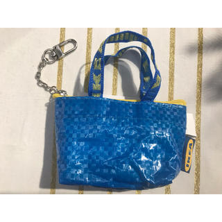 イケア(IKEA)のKNOLIG クノーリグ バッグS ブルー(小物入れ)