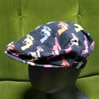 カシラ(CA4LA)のCA4LA アンディウォーホル ピストル柄 ハンチング(ハンチング/ベレー帽)