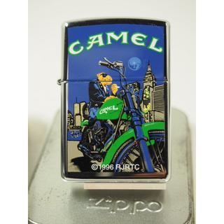ジッポー(ZIPPO)の1998 Zippo Camel Joe on Handlebars(キャメル)(タバコグッズ)