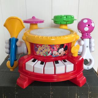 ディズニー(Disney)の【二児のmama様専用】タカラトミー★ディズニーリズム遊びいっぱいマジカルバンド(楽器のおもちゃ)