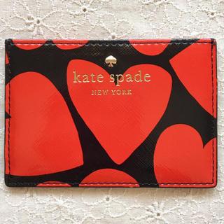 ケイトスペードニューヨーク(kate spade new york)の新品☆ケイトスペード カードケース(パスケース/IDカードホルダー)
