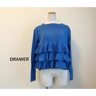 ドゥロワー(Drawer)のDRAWER ティアードクルーネックニット(ニット/セーター)