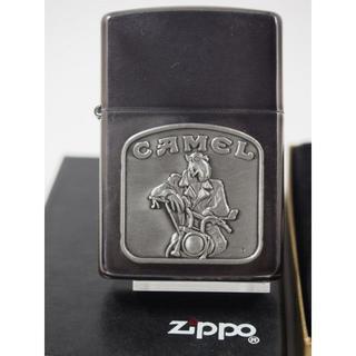 ジッポー(ZIPPO)の1992 Zippo Camel Joe on Handlebars(キャメル)(タバコグッズ)