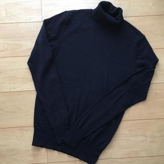 ムジルシリョウヒン(MUJI (無印良品))の無印 タートルネックセーター紳士XS(ニット/セーター)