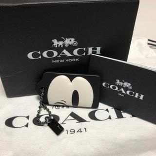7e54195977c2 コーチ(COACH)の限定コラボ COACH x DISNEY バックチャーム ミッキー(キーホルダー)