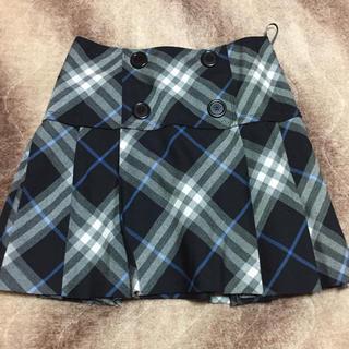 バーバリーブルーレーベル(BURBERRY BLUE LABEL)のバーバリーブルーレーベル 36 スカート(ひざ丈スカート)