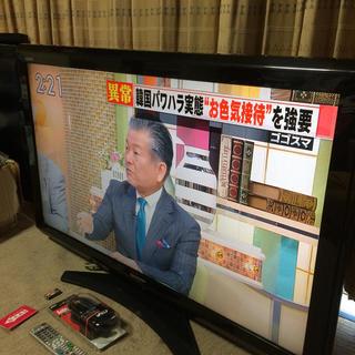 シャープ(SHARP)の【23区無料配達】40型AQUOS液晶テレビ★手渡しのみ★(テレビ)