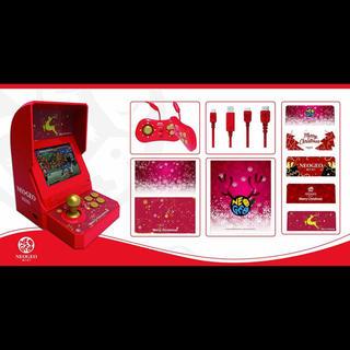 ネオジオ(NEOGEO)のneogeo mini クリスマスver(家庭用ゲーム本体)