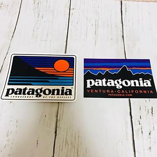 パタゴニア(patagonia)のpatagoniaステッカー 2枚セット(シール)