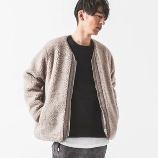 SLICK TOKYO ボアフリースリバーシブルジャケット