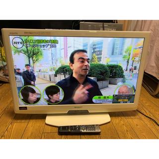 シャープ(SHARP)の送料込 シャープ LEDアクオス 32型 液晶テレビ 32インチ 外付HDD対応(テレビ)