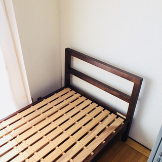 ムジルシリョウヒン(MUJI (無印良品))の無印良品 ベッド 期間限定出品(シングルベッド)