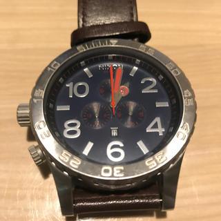 ニクソン(NIXON)の腕時計…Nixon 51-30 CHRONO…革ベルト(腕時計(アナログ))