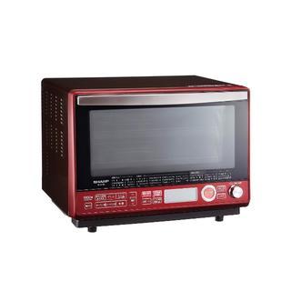 シャープ(SHARP)のシャープ 過熱水蒸気オーブンレンジ 2段調理 31L レッド RE-SS10B-(電子レンジ)