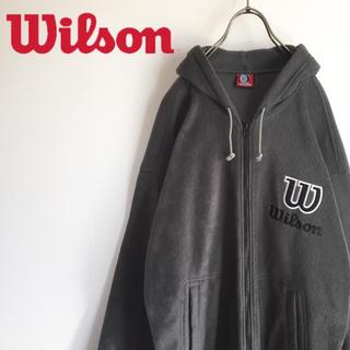 ウィルソン(wilson)の古着 ウィルソン ヒットユニオン フリース ジップパーカー(パーカー)