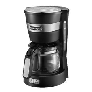 デロンギ(DeLonghi)のデロンギ ドリップコーヒーメーカー 黒(コーヒーメーカー)