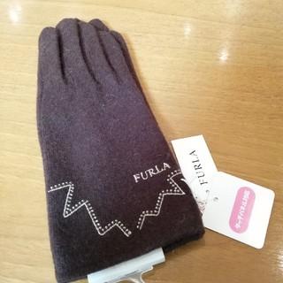 476acc1d833a フルラ(Furla)の新品未使用 未開封 FURLA フルラ 手袋 ブラウン クリスマス刺繍