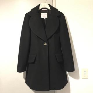 ヴィヴィアンウエストウッド(Vivienne Westwood)のRed Label  Love coat black(チェスターコート)