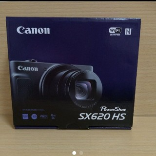 キヤノン(Canon)のCanon PowerShot SX620HS デジタルカメラ ブラック(コンパクトデジタルカメラ)