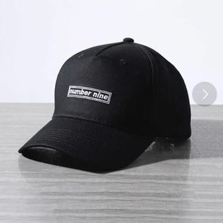 ナンバーナイン(NUMBER (N)INE)のナンバーナイン 帽子 美品(キャップ)