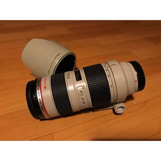 キヤノン(Canon)の美品 Canon ef 70-200mm f2.8L usm(レンズ(ズーム))
