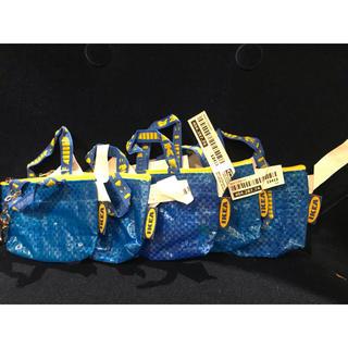 イケア(IKEA)の【5個セット】KNOLIG クノーリグ バッグS ブルー(小物入れ)