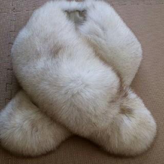 サガフォルム(Sagaform)の毛皮 SAGA FOX サガフォックス ファーショール(毛皮/ファーコート)