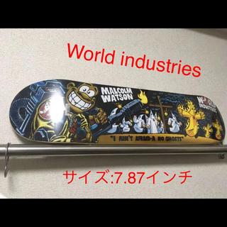 エレメント(ELEMENT)のWorld industries スケートボード デッキ(スケートボード)